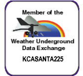 Weather Underground PWS KCASANTA225